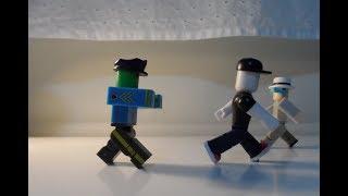 A Zombie Apocalypse parte 1 (Roblox Toy stop movimentos)