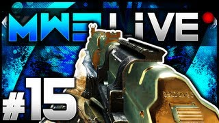 """SEIZURE!"" - MW3 LIVE #15 (Call of Duty: Modern Warfare 3 Multiplayer Gameplay)"