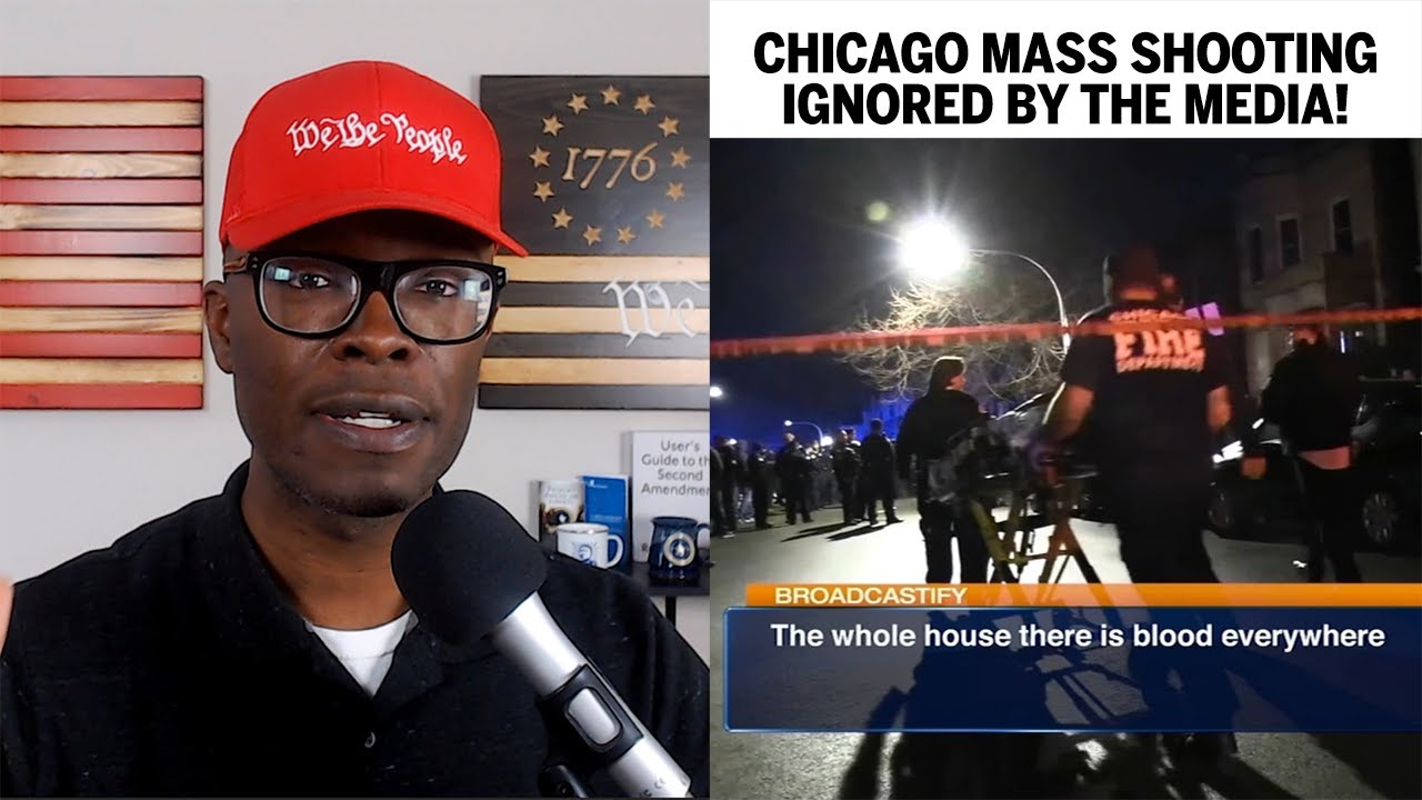 Chicago Mass Shooting IGNORED By Media! I Wonder Why? - ABL