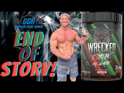 HOPED IT WOULD BE GOOD   Huge Supplements Wrecked Extreme Limited Edition Review Bros Review