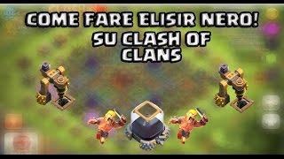 Clash of Clans - Come fare elisir nero