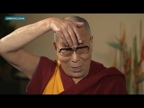 Watch the Dalai Lama impersonate Donald Trump