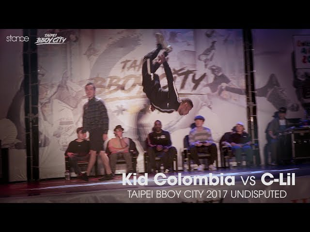 Kid Colombia vs C Lil ► .stance x Taipei Bboy City x Undisputed 2017 ◄