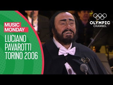 Luciano Pavarotti's Last Public Performance - Torino 2006 Opening Ceremony | Music Monday