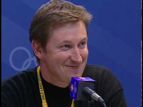 wayne gretzky's speech at the 2002 olympic games - YouTube