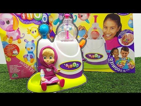 Masha e Orso giocano con i palloncini OONIES - tante divertenti creazioni colorate e da attaccare!