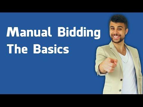Facebook Ads Manual Bidding - Basics