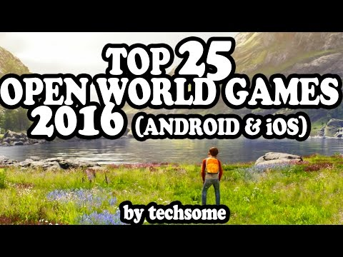 Top 25 Open World Games 2016 (Android & iOS)