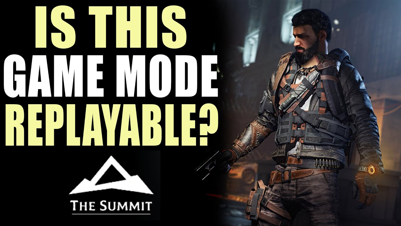 "How ""Replayable"" Is This ""Highly Replayable"" Game Mode? - The Summit/The Division 2 thumbnail"