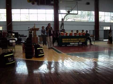 Daniel Bahamondes, Coliseo Instituto Guaranda