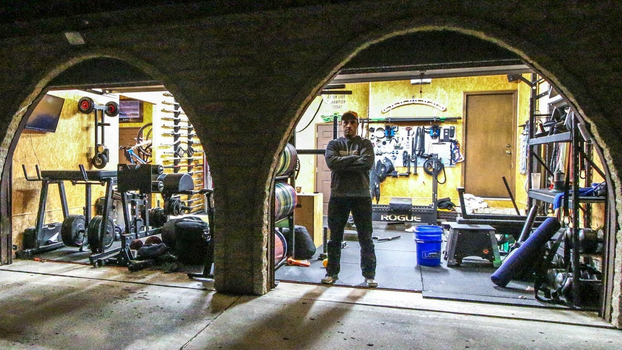 Coop s garage gym tour youtube