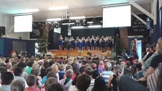 Waterloo School Kapa Haka Group 2013 - Toia Mai te Waka Nei