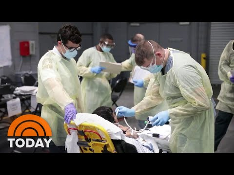 New York's Coronavirus Death Rate Shows Signs Of Leveling Off | TODAY