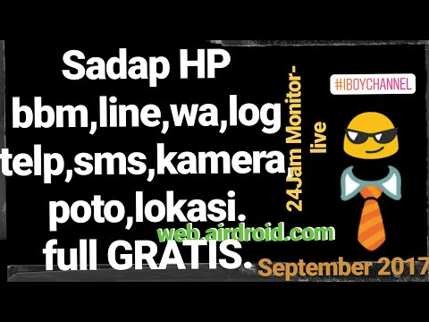 Cara Sadap HP BBM,LINE,WA,POTO,LOG,SMS LIVE | iBoy