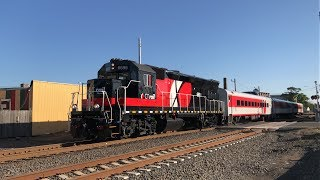 Nathan AirChime K5UL-AU-LS Horn on CTrail EMD GP40-3H 6699 @ Wallingford (6/4/19)