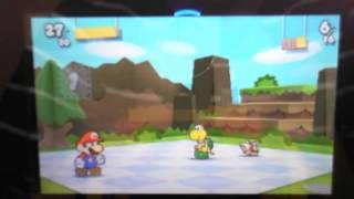 Lets Play Paper Mario Sticker Star Part 9 - Dominoday im Gebirge