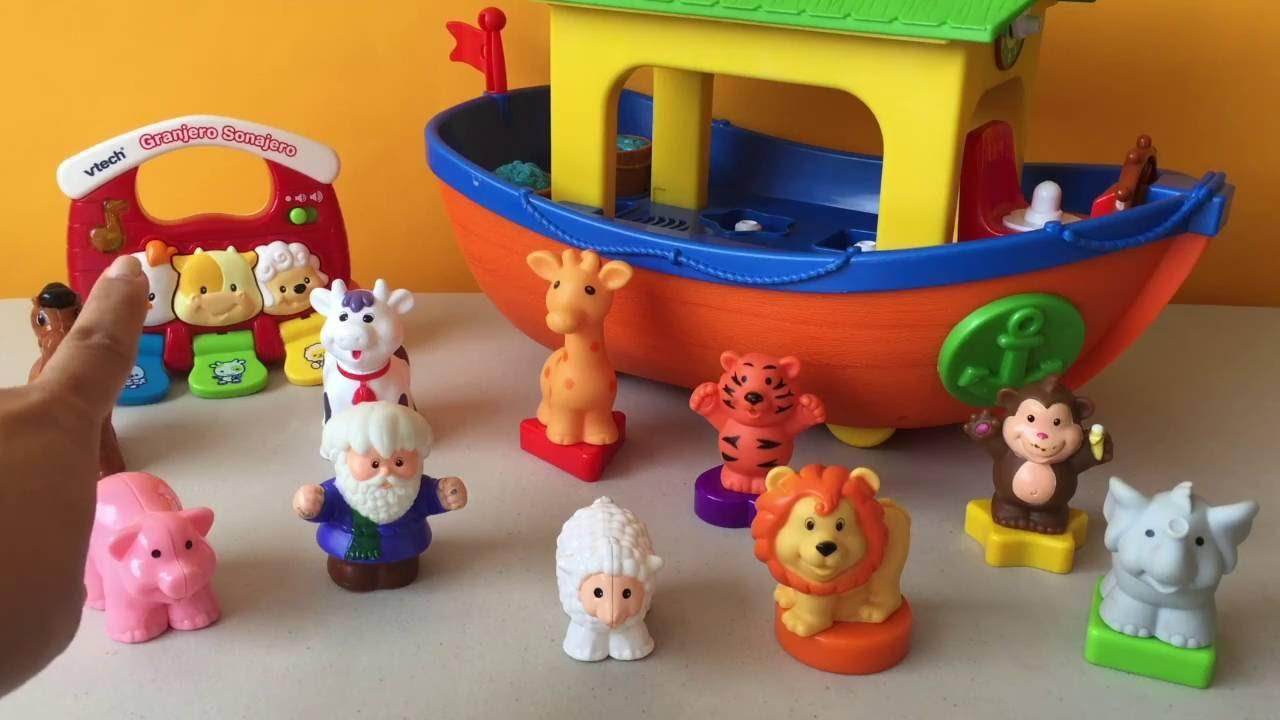 Y AnimalesBabies Town Barco Toys Kidsplace Para Juguetes Bebés cFlKJT31