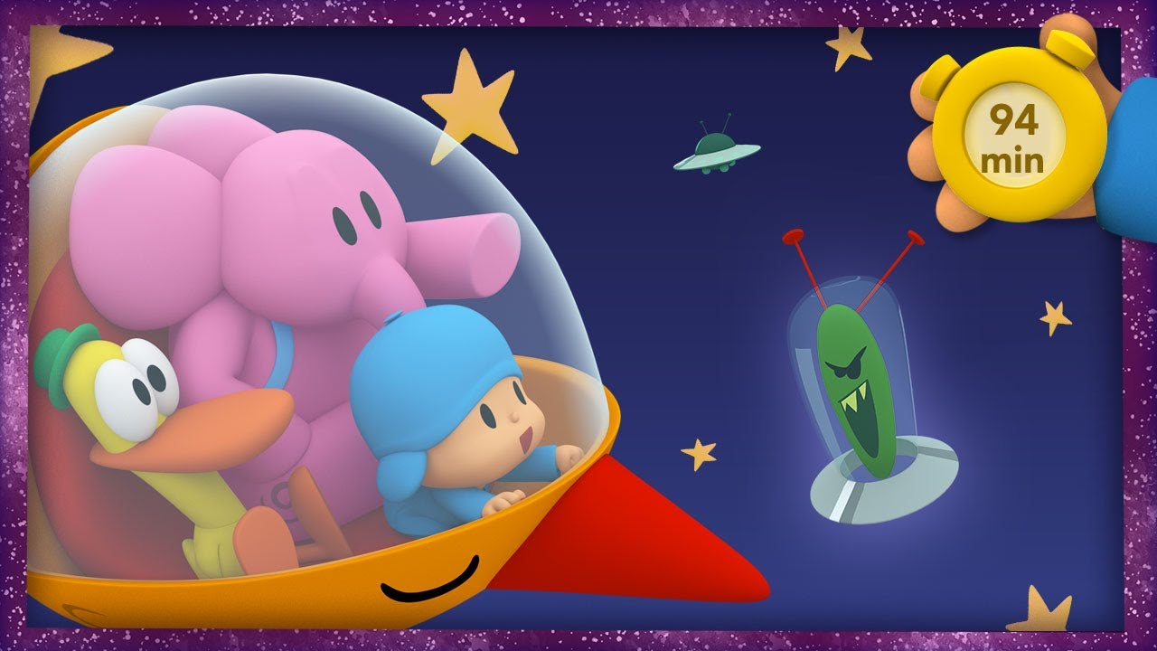 🚀 POCOYO AND NINA - I Wanna Be An Astronaut! [94 min] ANIMATED CARTOON for Children |FULL episodes