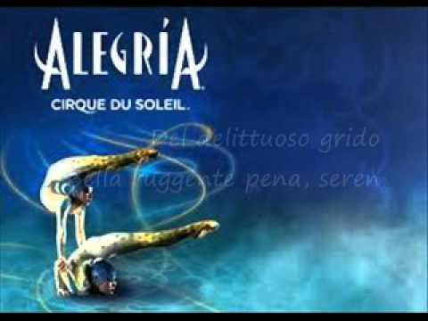 Alegria - Cirque du Soleil (Lyrics)