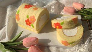 봄맞이 꽃 롤케이크를 만들어볼게에 [ 위즈웰 GL-42…