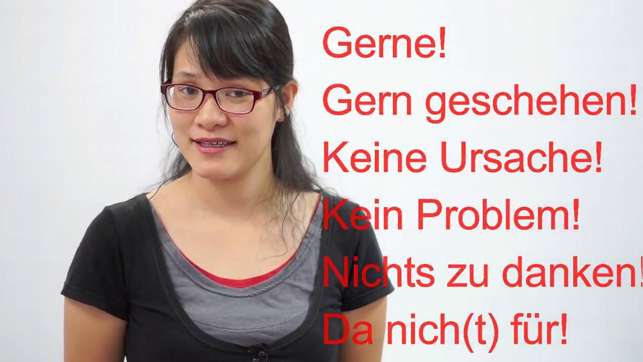 Học tiếng Đức cùng cô Thùy Dương - Bài 4: Wie geht´s?– Danke! – Bitte!