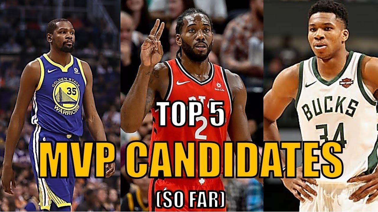 ed7538bf7c5 Top 5 NBA MVP Candidates So Far! (2019) - YouTube