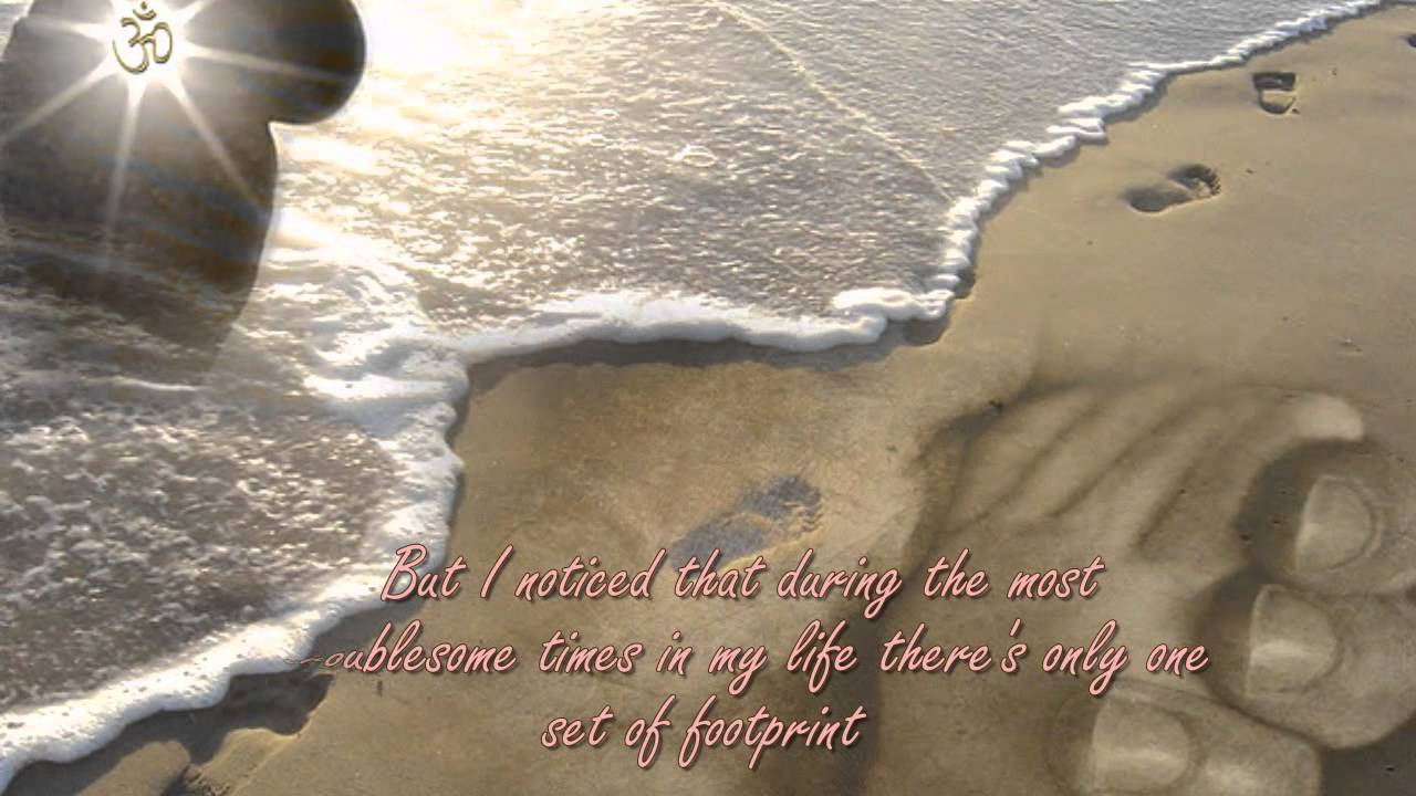 Footprints In The Sand By Cristy Lane With Lyrics Youtube