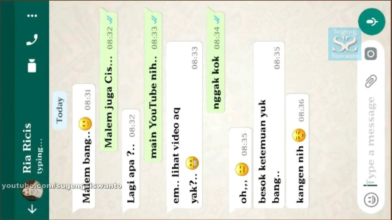 Cara Membuat Chatting Whatsapp FAKE Asik Buat EKSIS Ke Orang Lain Seru Dah