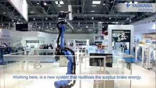 Repeat youtube video YASKAWA at Automatica 2012