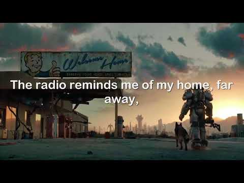 Take Me Home, Country Roads - Fallout 76 [Lyrics]