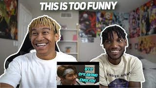 Baixar BTS Speaking English Compilation   FUNNIEST MOMENTS - REACTION