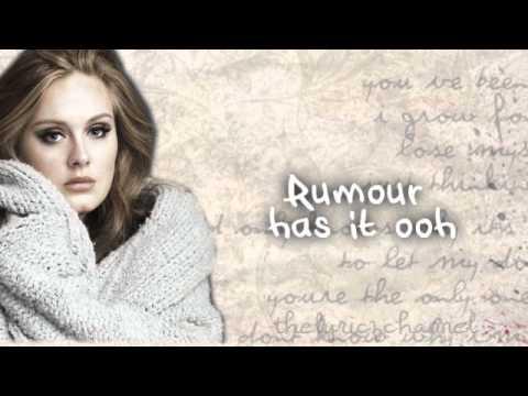A rumor has it lyrics