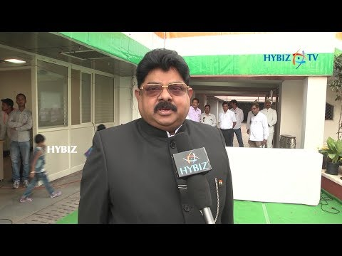 Baijendra Kumar, IAS CMD NMDC Ltd Wishing on Republic Day 2018 at Hyderabad