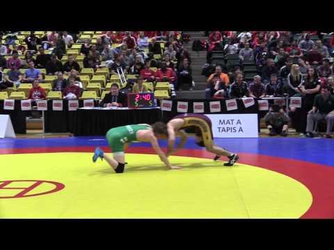 2015 CIS Championships: 54 kg Final Trevor Banks vs. Josh Bodnarchuk