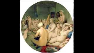 Жан Энгр «Турецкие бани» 1862