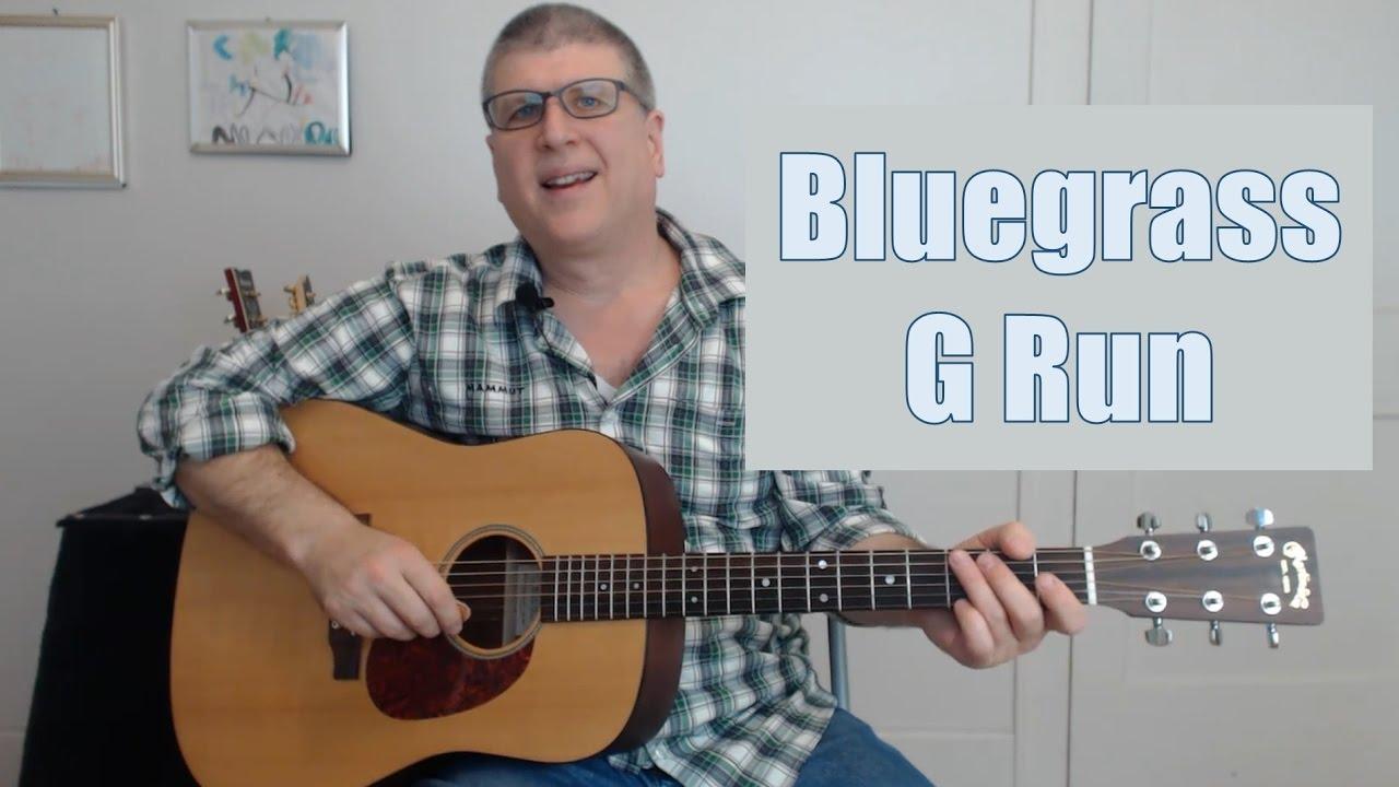 Straight Line Performance >> How to Play the Bluegrass Guitar G Run (with TAB) - YouTube