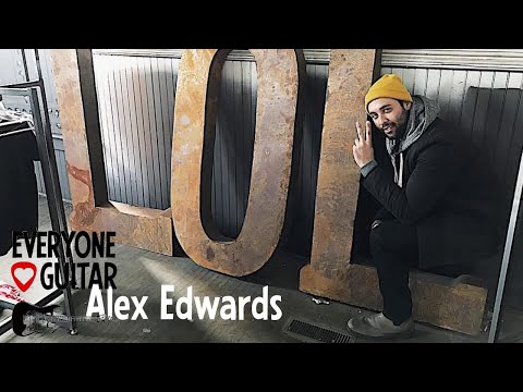 Alex Edwards, UNCUT - Parachute Studio & Touring Guitarist - ELG#123