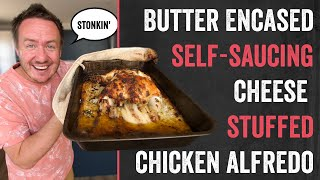 The Self Saucing Butter Encased Whole Chicken Alfredo | Barry tries #28