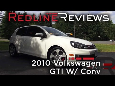 2010 Volkswagen GTI W/ Conv. and Sunroof Walkaround, Review, and Test Drive