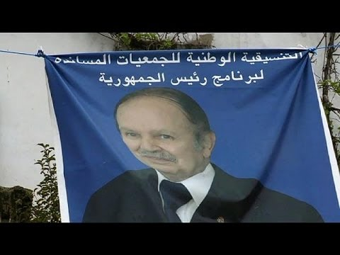 President Bouteflika expected to win fourth term in Algerian elections