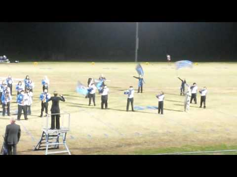Clinton County high school marching band 2015