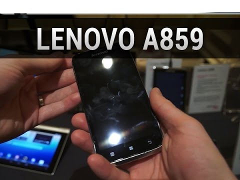 Lenovo A859, prise en main au CES 2014 - par Test-Mobile.fr