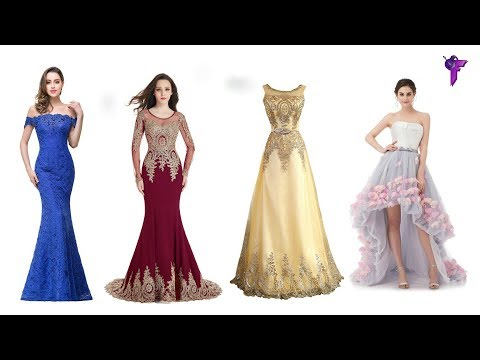 ►TOP 5 Beautiful Designer Females & Women's Formal Party Dress✔Summer Collection Best Females Dress.