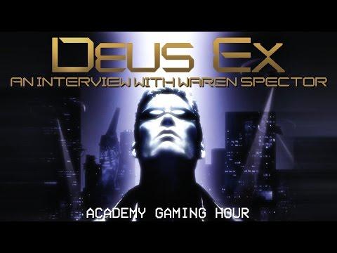 Academy Gaming Hour w/ Warren Spector (Deus Ex)