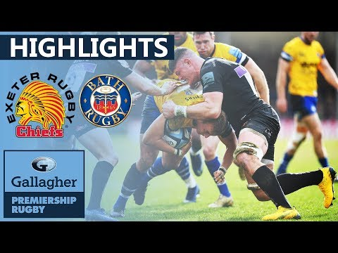 Exeter v Bath   Eight Tries in Dominant Victory!   Gallagher Premiership