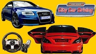Logitech G27 Ile City Car Driving Audi Rs6 Vs Mercedes Benz Cls63 Amg