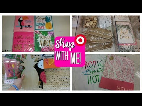TARGET DOLLAR SPOT SHOP WITH ME & HAUL! SUMMER 2018!