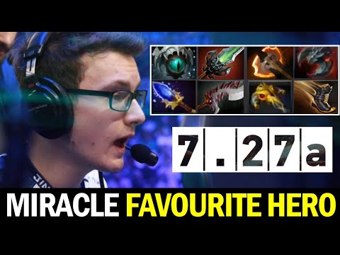 MIRACLE Favourite hero in 7.27 New Patch — Unstoppable BEAST