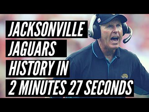 Jacksonville Jaguars History in 2 Minutes 27 Seconds
