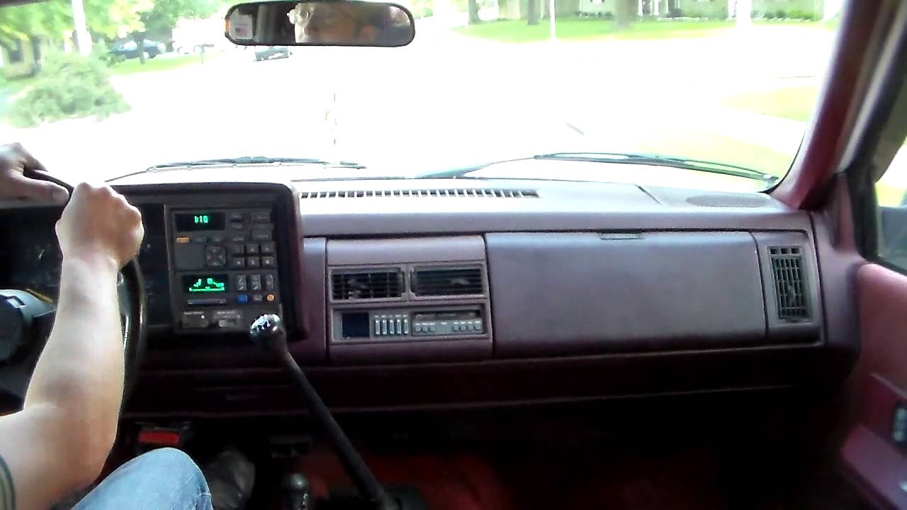 driving the 1993 k1500 5 speed blazer youtube rh youtube com 1994 chevrolet blazer owners manual 1994 chevy blazer manual